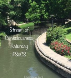 STREAM OF CONSCIOUSNESS SATURDAY BADGE
