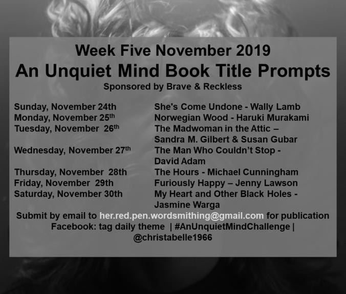 Week Five Prompts WordPress.Facebook